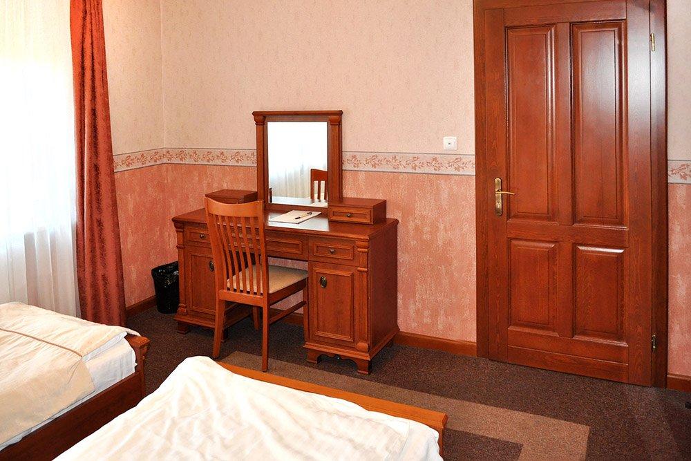 pokój dla uczestników odwyku w ośrodku Arkadia