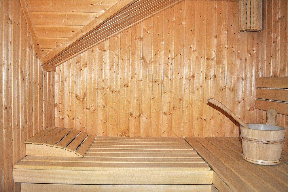 sauna w prywatnej klinice Arkadia