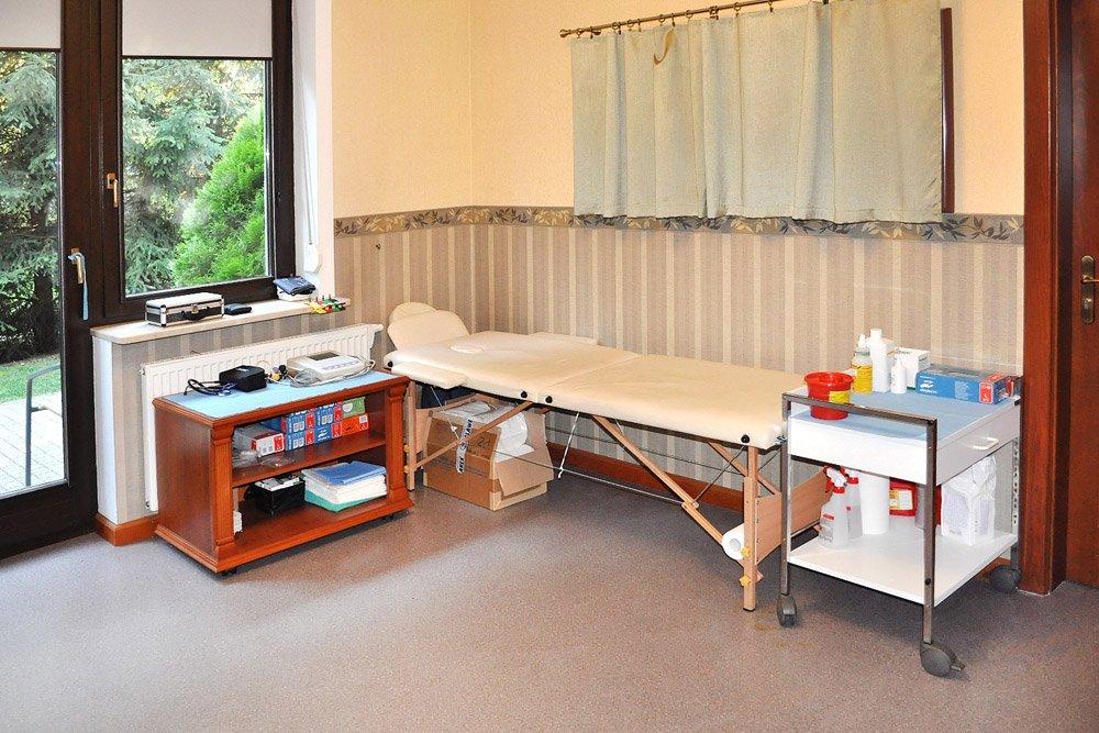 pokój diagnostyczny w ośrodku Arkadia