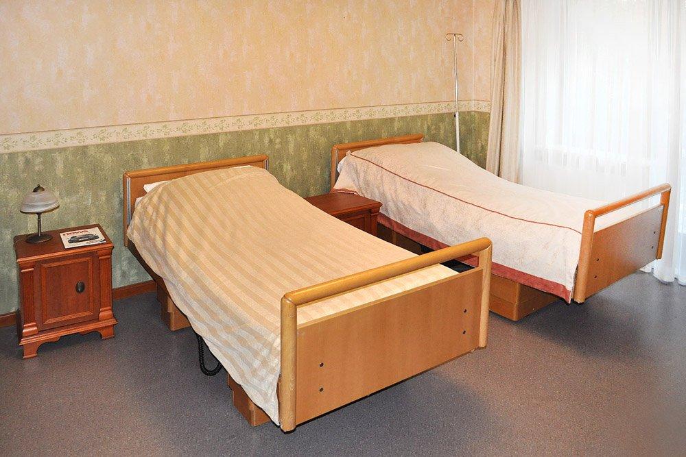 pokój dla pacjentów w osrodku terapeutycznym