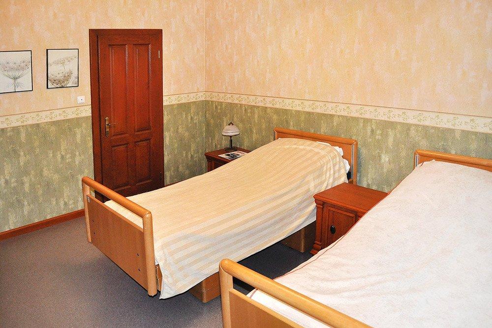 pokój w ośrodku leczenia